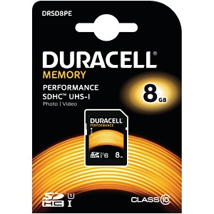 8GB SDHC Class 10 UHS-I Memory Card