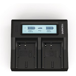 DM-MV400 Canon BP-511 Dual Battery Charger