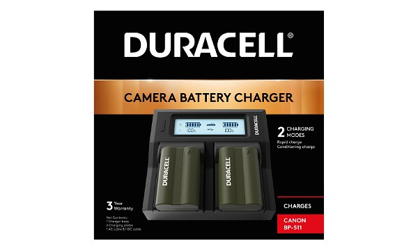 DRC511 Canon BP-511 Dual Battery Charger